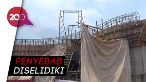 Struktur Terowongan Tol Desari Ambruk, 5 Pekerja Terluka
