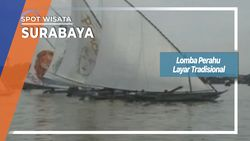 Lomba Perahu Layar Tradisional, Surabaya