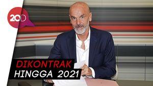 AC Milan Resmi Tunjuk Stefano Pioli Jadi Pelatih