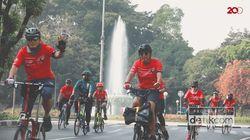 Keseruan Heart Bike 2019 Transmedia Bareng Yayasan Jantung Indonesia