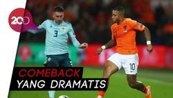 Menit-menit Akhir yang Krusial untuk Kemenangan Belanda