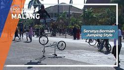 Serunya Bermain Jumping Style Malang