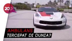 Whuzz! Mobil Sport Dijadikan Ambulans di Dubai