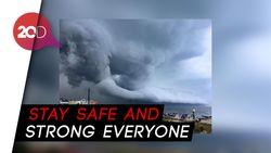 Jepang Dilanda Topan, #PrayForJapan Menggema di Twitter