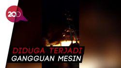 SPBU di Bukittinggi Hangus Terbakar, Api Diduga Berasal dari Mobil