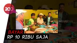 Makan Murah Porsi Sepuasnya di Warung Mak Ti Blitar