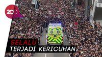 Aksi Massa Pro-demokrasi Lumpuhkan Hong Kong