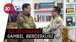 Temui Cak Imin, Prabowo Umbar Kedekatan di Antara Keduanya
