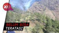 Kebakaran di Gunung Ringgit, 90 Persen Lahan Hangus