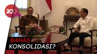 Usai Prabowo, Giliran Zulkifli Hasan Temui Jokowi di Istana
