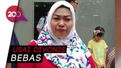 Eksklusif! Tangis Ina Pemviral Penggal Jokowi Keluar dari Rutan