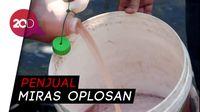 Jual Miras Oplosan, Kakek-Nenek di Makassar Diamankan Polisi