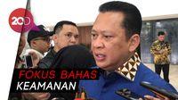 Jelang Pelantikan Jokowi, MPR Rapat Bareng Kapolri dan Panglima TNI
