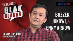 Blak-blakan Denny Siregar: Buzzer, Jokowi, & Enny Arrow