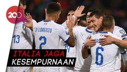 Kemenangan ke-8 Gli Azzurri, Lumat Liechtenstein 5-0