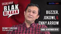 Tonton Blak-blakan Denny Siregar: Buzzer, Jokowi, & Enny Arrow