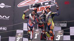 Ratusan CBR Bakar Aspal Sentul di Indonesia CBR Race Day Seri 2