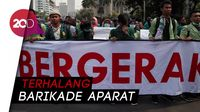 Mahasiswa Demo di Dekat Istana Tagih Perppu KPK