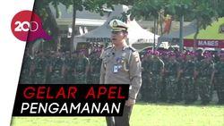TNI-Polri di Sulsel Gelar Apel Pengamanan Pelantikan Presiden