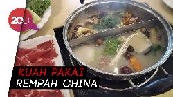 Nikmatnya Shabu-Shabu khas Mongolia dengan Potongan Daging Domba