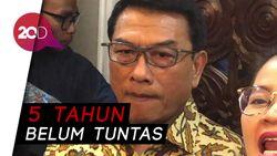 Jokowi Terganjal Kasus HAM, Ini Dalih Istana