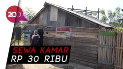 Petugas Bongkar 7 Bilik Asmara Lokalisasi di Polewali Mandar