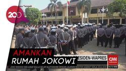 Jelang Pelantikan, Pengamanan Rumah Jokowi di Solo Diperketat