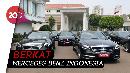 Mercy untuk Tamu Negara Pelantikan Jokowi Disewa Gratis