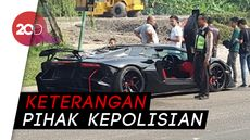 Kronologi Terbakarnya Lamborghini Batman Milik Raffi Ahmad