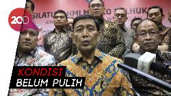 Setelah Silaturahmi, Wiranto Kembali Dirawat di RSPAD