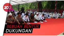 Warga Kendari Gelar Istighosah Jelang Pelantikan Jokowi