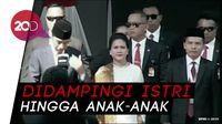 Melihat Iring-iringan Jokowi Menuju Kompleks Parlemen