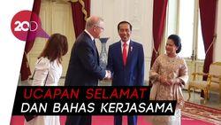 Jelang Dilantik, Jokowi Terima Kunjungan Tamu Negara