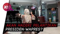 Istri Wiranto Bawa Setelan Jas Ke RSPAD