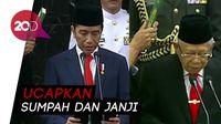 Sah! Jokowi dan Maruf Amin Resmi Jadi Presiden dan Wapres