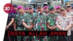 Kata Panglima TNI Pengamanan Pelantikan Presiden Sesuai Rencana