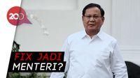 Bertemu Jokowi, Prabowo: Saya Diminta Membantu di Bidang Pertahanan