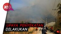 Gunung Cengkik dan Sirnalanggeng Terbakar, Petugas dan Warga Turun Tangan