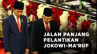Jalan Panjang Menuju Pelantikan Jokowi-Maruf