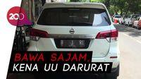 Bawa Parang dan Halangi Tamu Pelantikan Jokowi, Pemilik Mobil B 1 RI Ditahan