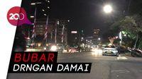 Demo Usai, Jalan Medan Merdeka Barat Kembali Normal