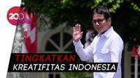 Siap Jadi Menteri, Wishnutama Bahas Kreativitas Bareng Jokowi