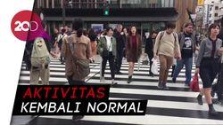 Geliat Kota Tokyo Usai Diterjang Topan Dahsyat Hagibis