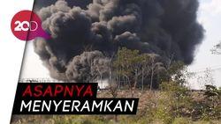 Pipa Pertamina di Cimahi Terbakar Hebat, Tol Purbaleunyi Terdampak