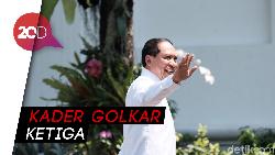 Politikus Golkar Zainudin Amali Tiba di Istana Negara