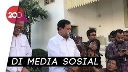 Prabowo Merapat ke Jokowi Turunkan Tensi Kubu saat Pilpres