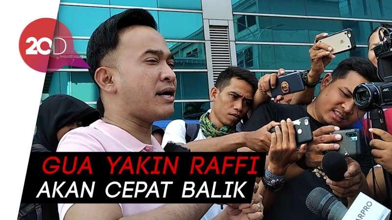 Ungkapan Kesedihan Ruben Onsu Soal Raffi Pamit dari Dunia Hiburan