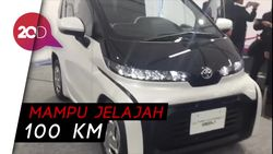 Ultra Compact BEV, Mobil Listrik Imut dengan 2 Penumpang