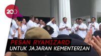 Pesan Perpisahan Ryamizard ke Jajarannya: Loyal Sampai Mati