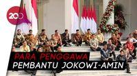 Resmi! Ini Jajaran Menteri Jokowi-Amin di Kabinet Indonesia Maju